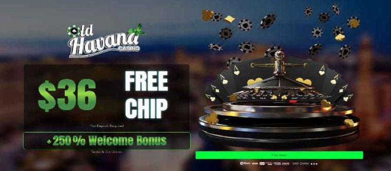 Old Havana Casino $36 Free Chip FPC36