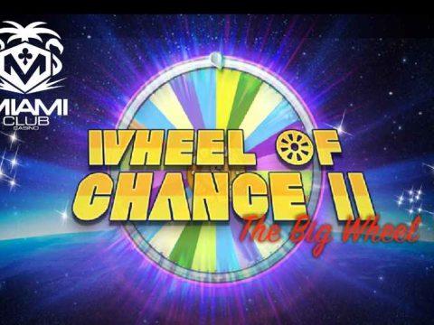 miami club 50 free spins wheel of chance